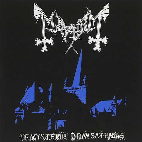 MAYHEM De Mysteriis Dom Sathanas (P