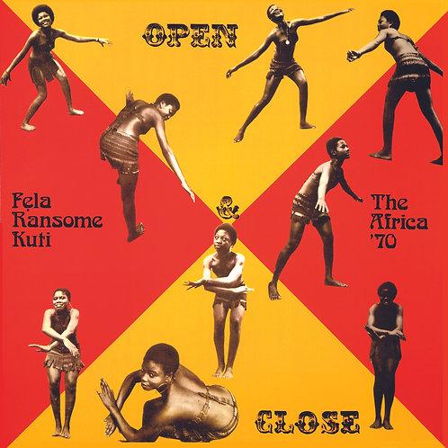 FELA KUTI Open & Close (Red & Yellow Butterfly)