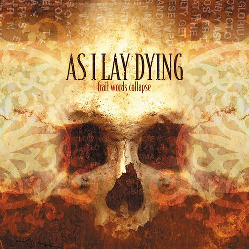 AS I LAY DYING Frail Words Collapse (Black)