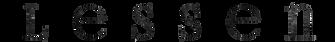 lessen logo
