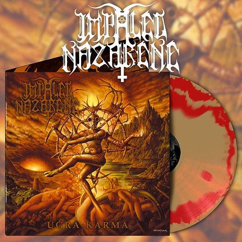 IMPALED NAZARENE Ugra Karma (Orange / Gold Swirl)