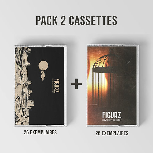 FIGURZ How Many Ghosts ? (PACK 2 Tapes)