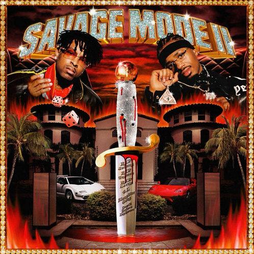 21 SAVAGE & METRO BOOMIN Savage Mode II (Red Translucent)