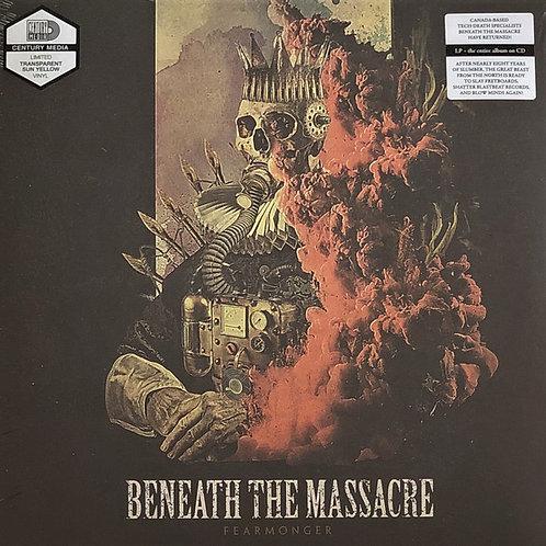 BENEATH THE MASSACRE Fearmonger (Transparent Sun Yellow)
