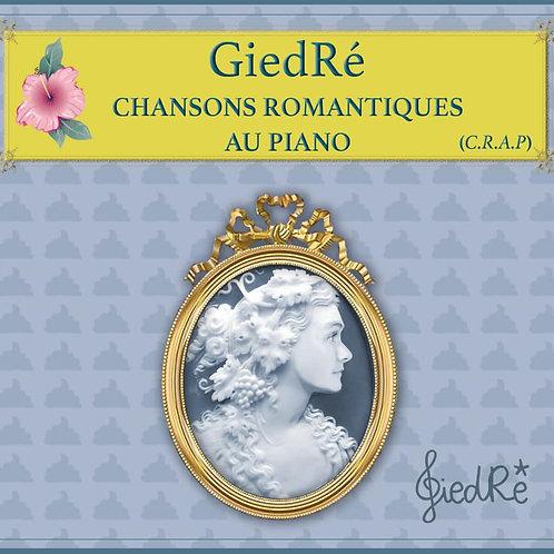 GIEDRE - Chansons Romantiques Au Piano