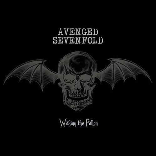 AVENGED SEVENFOLD Waking The Fallen (Black w/ White Splatter)