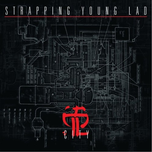 STRAPPING YOUNG LAD City (Silver)