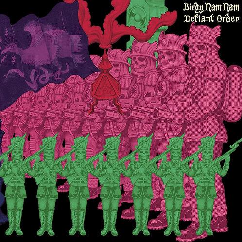 BIRDY NAM NAM Defiant Order (Transparent Green & Pink Splatter)