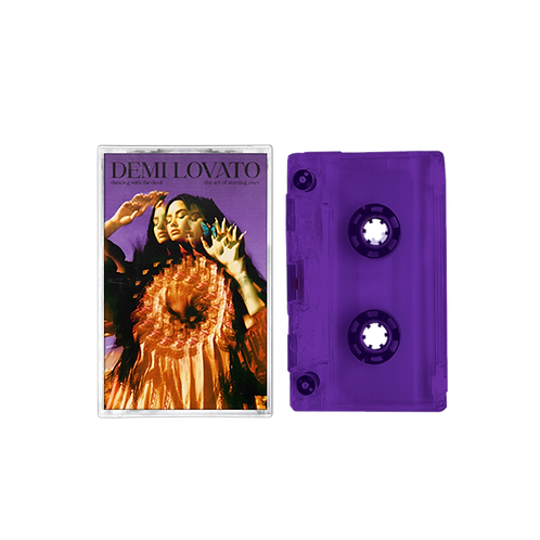 DEMI LOVATO Dancing With The Devil... The Art Of Starting Over (Purple Tape)