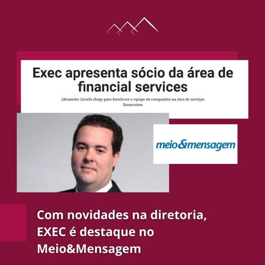 EXEC Consultoria no Meio&Mensagem