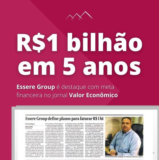 Essere Group no Valor Econômica