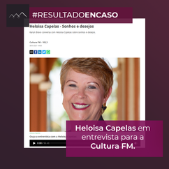 Heloisa Capelas na Cultura FM