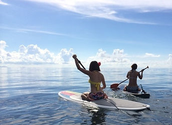 沖縄本島南部・糸満スタンドアップパドルサーフィン