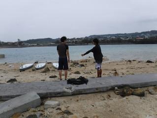 SUP体験ツアーin奥武島