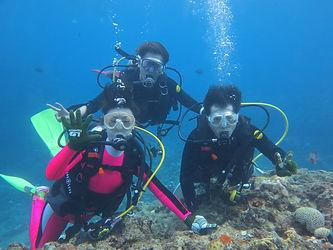 沖縄本島南部・糸満体験ダイビング