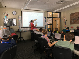2018/19: LCS 5/6 participate in STARBASE Program, Day 1