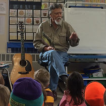 Author Jim Arnosky visits LCS