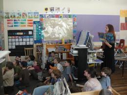 2011/12: Author Phoebe Stone visits
