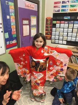 2017/18: Japan Studies   Traditional Dress