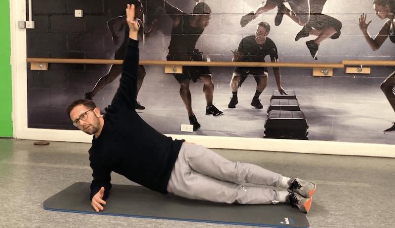 Side planking
