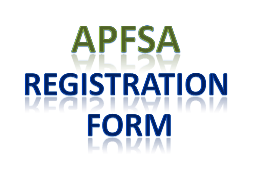 APFSA Registration Form