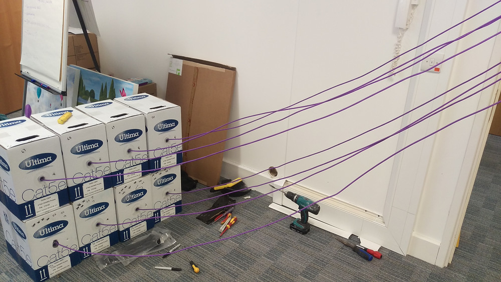 network cable installation west sussex