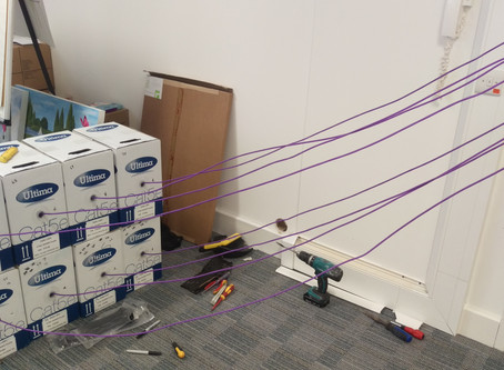 Cat5e Office Network Cable Installers in East and West Sussex