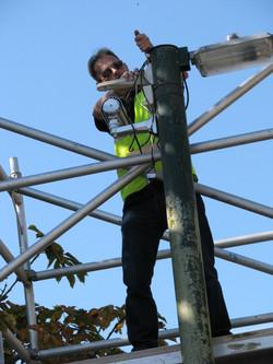 CCTV installation at Drusillas Zoo