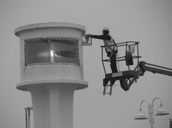 CCTV Littlehampton Lighthouse