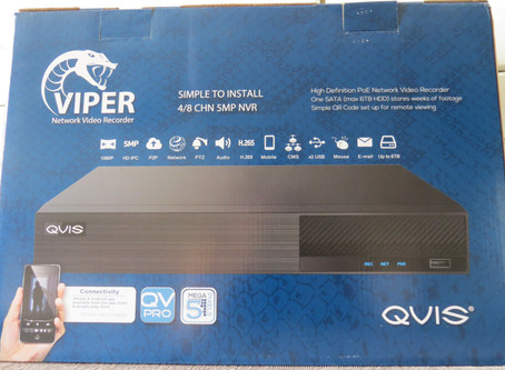QVIS Viper 5MP NVR Review | Wire Wizards Security Systems and CCTV for West Sussex