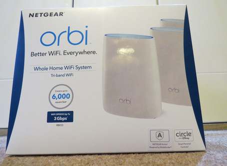 How do I boost my Wi Fi signal Netgear Orbi for customers in Worthing, Chichester & Littlehampton