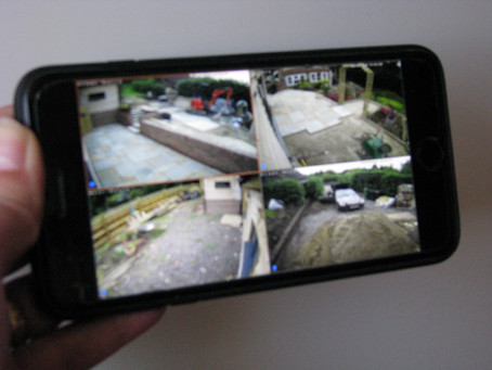 Why viewing the CCTV via an app is the last secret ingredient