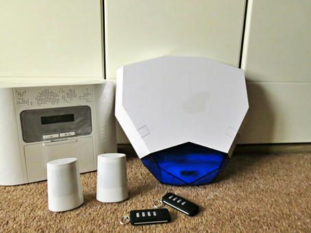 Staying safe; An affordable Visonic 30 Powermaster G2 Intruder Alarm Kit