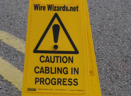 The Pro's for using Office Network Cabling; Cat 5 , Cat 6, West Sussex