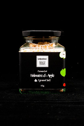 Fermented Habanero & Apple Pyramid Salt 62gm