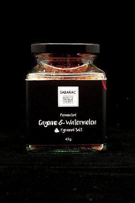 Fermented Cayenne & Watermelon Pyramid Salt 62gm