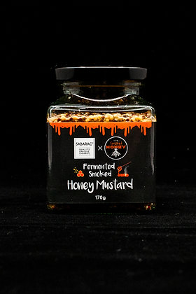 Fermented Smoked Honey Mustard 170gm