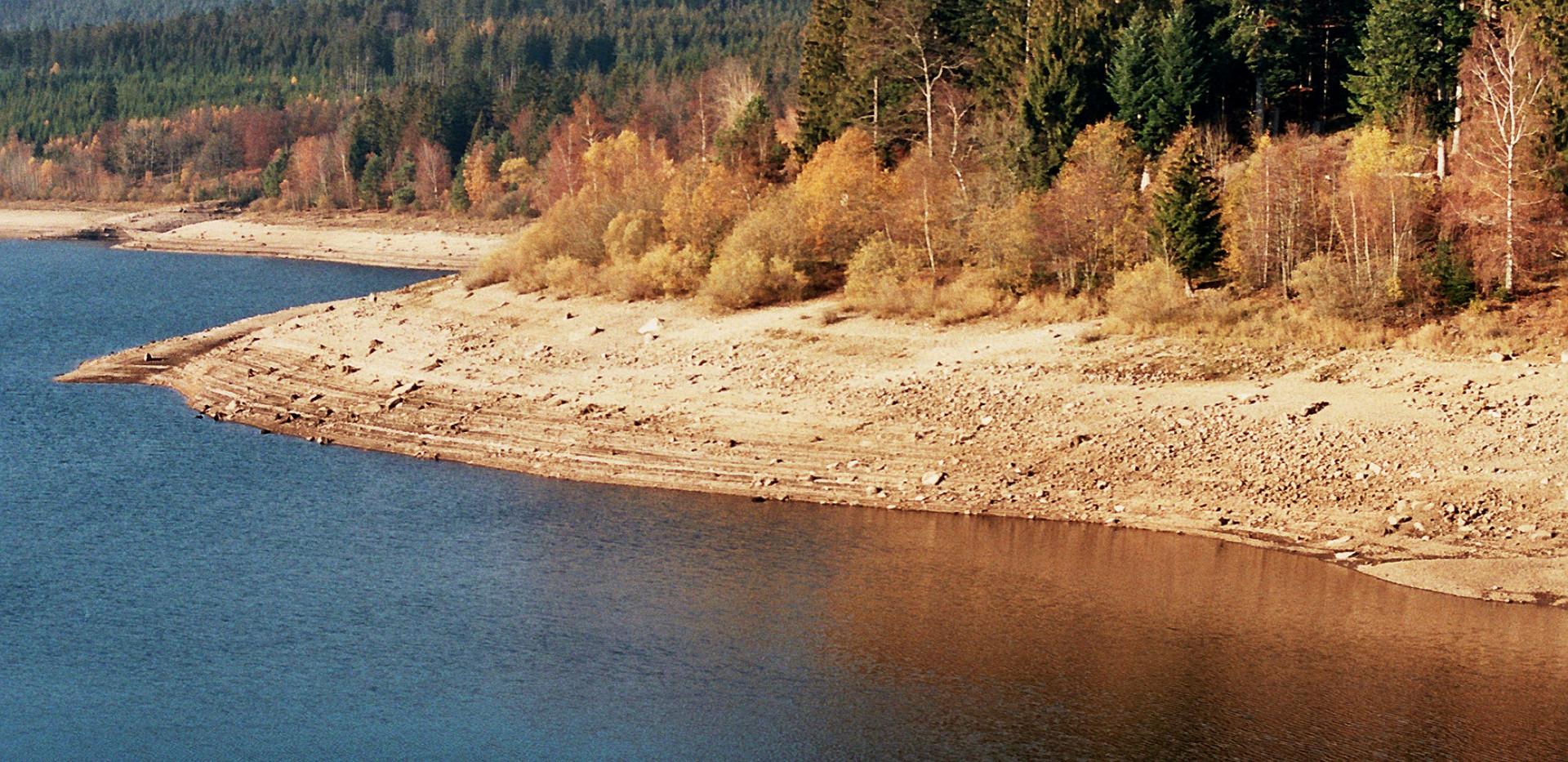 Schwarzenbach Dam, Germany, November 2018
