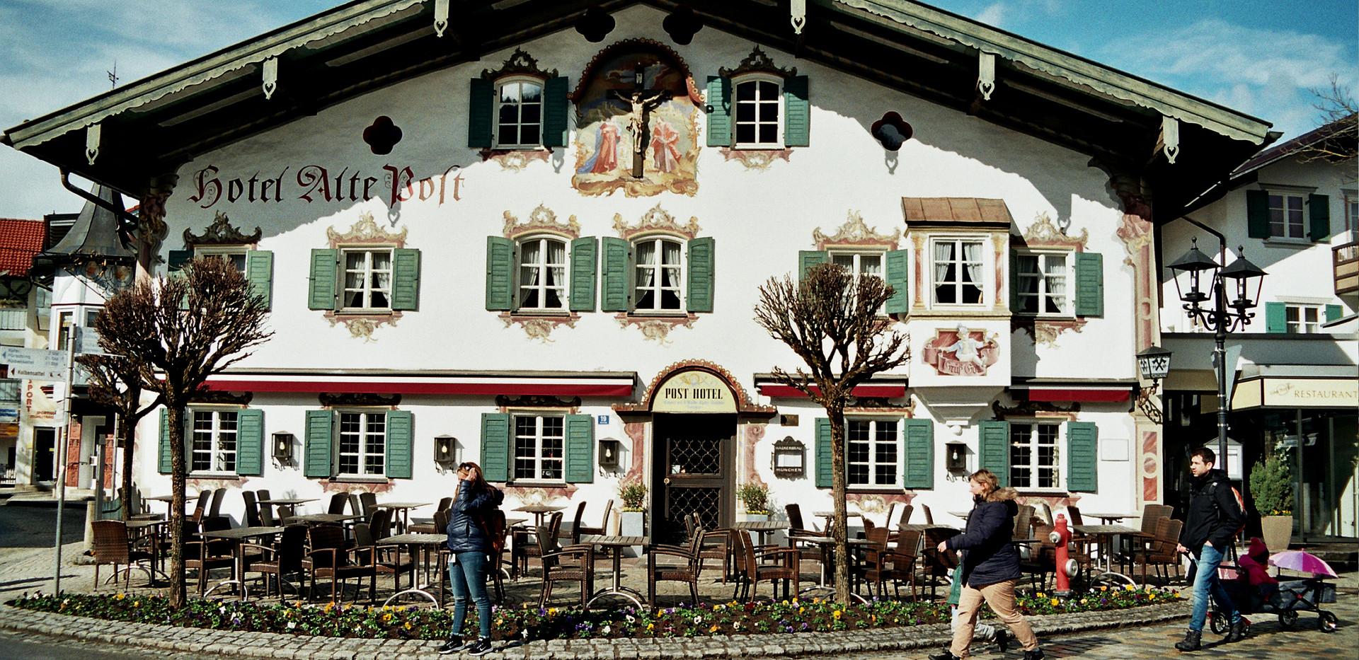 Oberammergau, Germany, April 2018