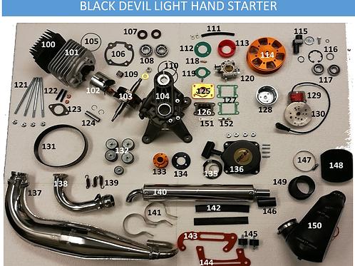 Onderdelen M25 Black Devil