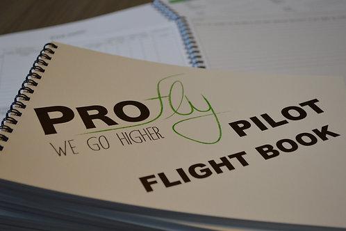 Vluchtenboek met optioneel hoesje/mapje