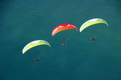 Ozone gliders