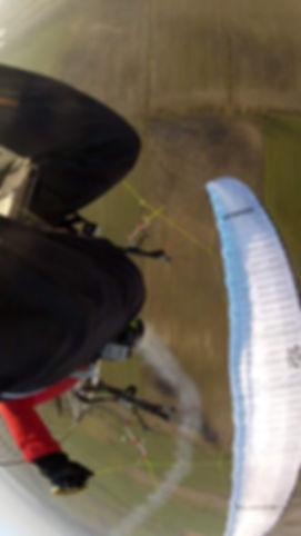 paramotor vliegen