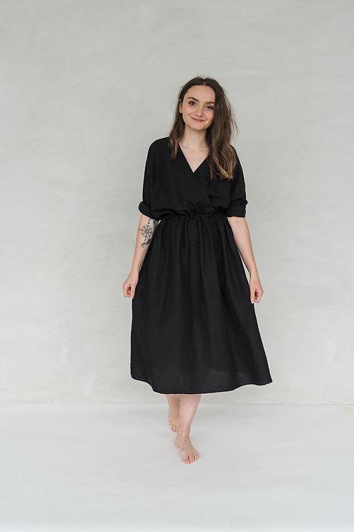 FRIEDA DRESS - BLACK