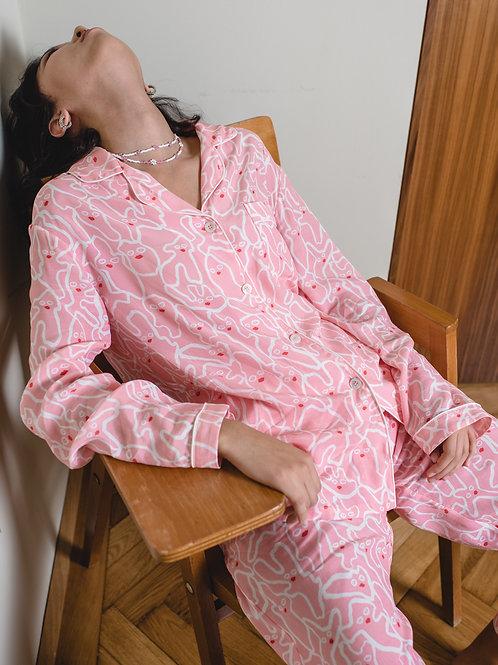 Pyjama SELMA - Ginger Pink