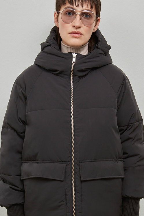 BELFAST PUFFER PARKA, BLACK - EMBASSY OF BRICKS AND LOGS