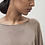 Thumbnail: YVONNE WIDE SILK CASHMERE TOP, TAUPE - MASKA