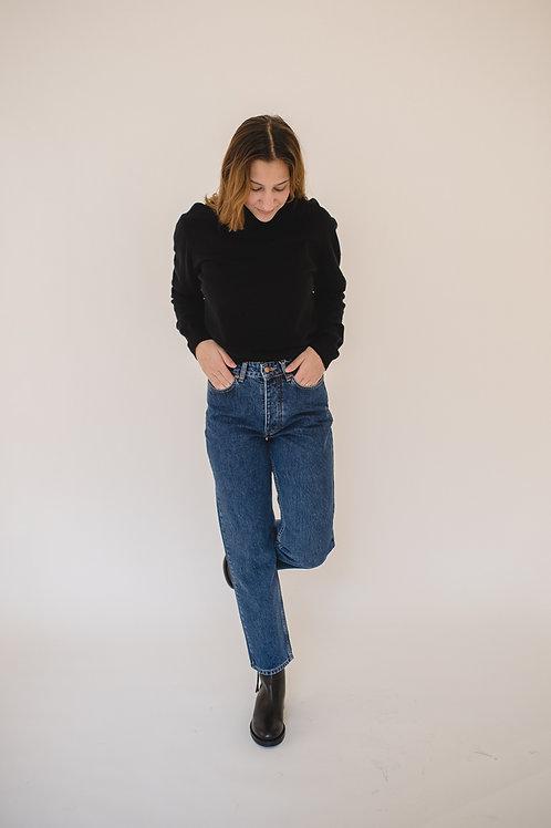 Pullover Turtleneck Black - ALATE