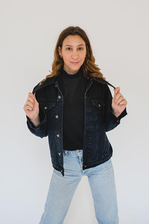 Jeans Jacket Black - MACQUEEN