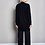 Thumbnail: ANDO - BUTTONLESS CARDIGAN, BLACK - MASKA